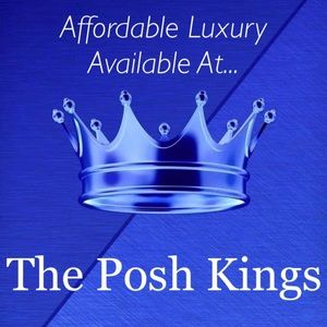 AFFORDABLE LUXURY AVAILABLE AT @theposhkings